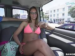She can ride dick like a champ too?.shit was wild.
